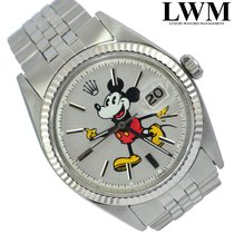 Rolex Datejust 1601 Mickey Mouse Silver dial 1972