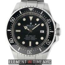 Rolex Sea-Dweller Deepsea Stainless Steel 43mm Black Dial V...
