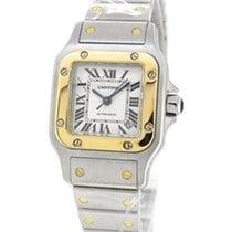 Cartier 18K Gold/SS Santos 2423, Automatic