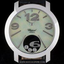 Σοπάρ (Chopard) 18k White Gold MOP Dial Happy Diamonds Ladies...