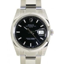 Rolex Date 115200 In Steel, 34mm