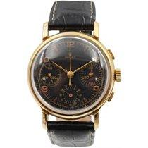 Rolex Vintage Rolex Antimagnetique Chronograph 18k Yellow Gold...