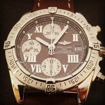 Breitling Chronographe and stainless steel ref.A13358