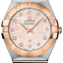 Omega Constellation Brushed 27mm 123.20.27.60.57.004