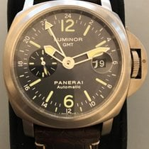 Panerai Luminor GMT 44m Titanium antracite Dial