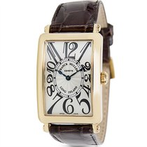 Franck Muller Long Island 950 QZ Unisex Watch in 18K Yellow Gold