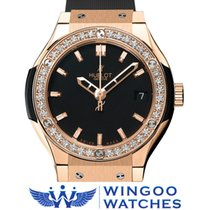 Hublot - Classic Fusion Diamonds King Gold Ref. 581.OX.1180.RX...