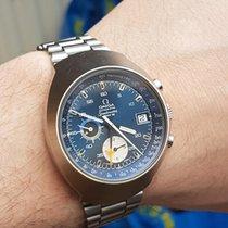 Omega Speedmaster automatic mk3 rare electric blue dial