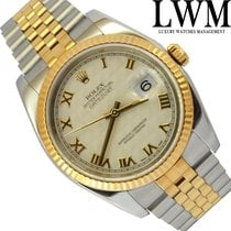 Rolex Datejust 116233 Ivory Pyramid Dial Full Set 2004's