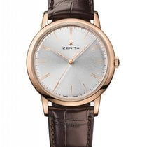 Zenith Elite Chronograph Classic 18K Rose Gold Men's Watch