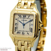 Cartier Panthere Men Size 18K Yellow Gold Bj-1995 Just...