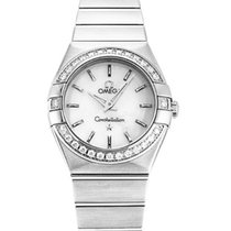 Omega 123.15.24.60.05.001 Constellation Women's Diamond...