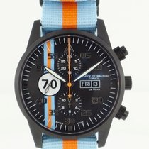 Maurice de Mauriac Le Mans orange