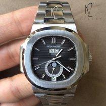 Patek Philippe 5726/1A Nautilus Steel Black Dial