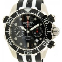 Certina Diver Ds Action Co13.42717.051.00 Acciaio Caucciù, 49mm
