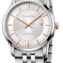 ck Calvin Klein infinite Automatik Herrenuhr K5S34B46
