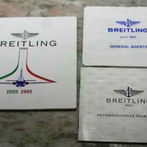 Breitling vintage kit Chronograph Warranty Certificate and...