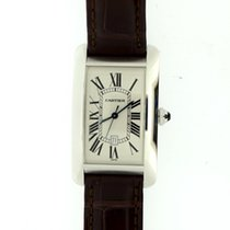 Cartier Tank Americaine Large white gold auto
