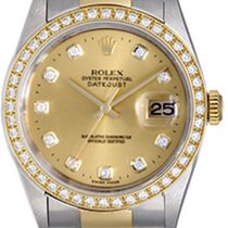 Rolex Men's Rolex Datejust 2-Tone Steel & Gold Watch...