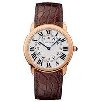 Cartier Ronde Quartz Ladies Watch Ref W6701008