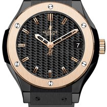 Hublot Classic Fusion Ceramic Bico 33mm - NEW - 2017 B + P
