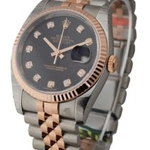Rolex Unworn 116231 Datejust 36mm in 2-Tone with Fluted Bezel...