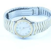 Ebel Classic Wave Damen Uhr Stahl/750 Gold 22mm Top Zustand...