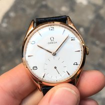 Omega Manual Manuale rose gold oro rosa 36 mm 18kt Gold cal 265