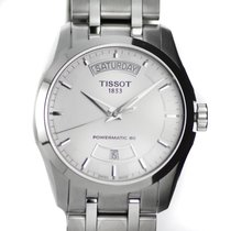 Tissot watch Couturier Powermatic 80 white dial