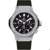 Hublot Big Bang Steel 44mm 301.sx.1170.rx.1104 Diamond Black Dial