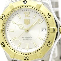 TAG Heuer Polished Tag Heuer 2000 Gold Plated Steel Automatic...