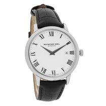 Raymond Weil Toccata Mens White Dial Swiss Quartz Watch...