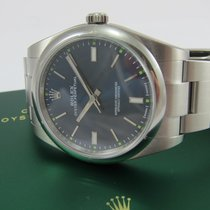 """Rolex Oyster Perpetual 39 """"Blue"""" LC100"""