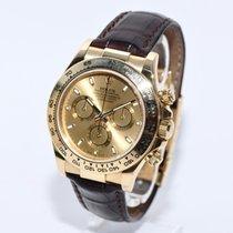 Rolex Daytona Gold 116518 Papiere Box von 2007