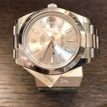 Rolex Datejust Silver-Index-Oyster 126300