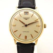 Longines in oro massiccio 18 kt 750 orologio uomo anni 60...