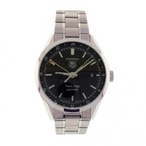TAG Heuer Carrera Twin-Time WV2115.BA0787 Stainless Steel...