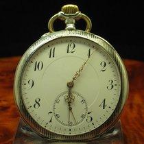 IWC 900 Silber Tula Silber Open Face Taschenuhr Von Ca. 1912 /...