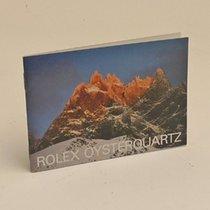 Rolex Oyster Quartz Booklet