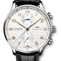 IWC Portugieser Chrono 41mm IW371445 Steel - NEW - VAT INC. 22%