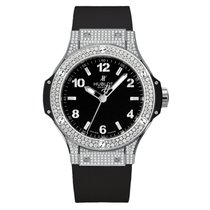 Hublot Big Bang  38mm Quartz Stainless Steel Mens Watch Ref...