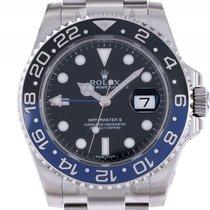 Ρολεξ (Rolex) GMT Master II Blau Schwarz Batman Keramik Stahl...