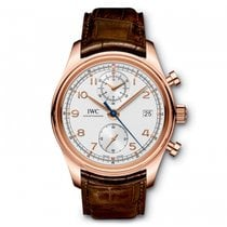 IWC Portugieser Chronograph Classic  Silver  Dial Automatic...
