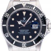 Rolex Submariner Date Stahl Automatik 40mm open 6/9 Ref.16800...