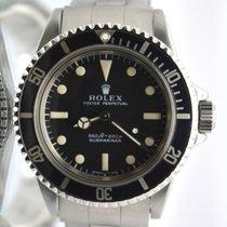 Rolex Submariner 5513 Dial Untouched original 1972 Fat font bezel