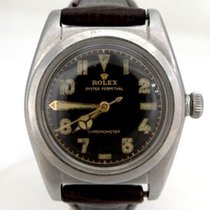 Rolex Vintage 1943 Rolex Oyster Perpetual Stainless Steel...