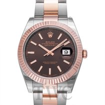 롤렉스 (Rolex) Datejust 41 Chocolate Steel/Rose gold 41mm - 126331