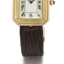 Καρτιέρ (Cartier) | A Yellow Gold Manual Winding Octagonal...