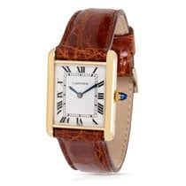 Cartier Tank Louis Women's Manual Watch in 18K Yellow Gold