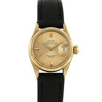 Rolex Oyster Perpetual Lady Datejust en or jaune Ref : 6517...